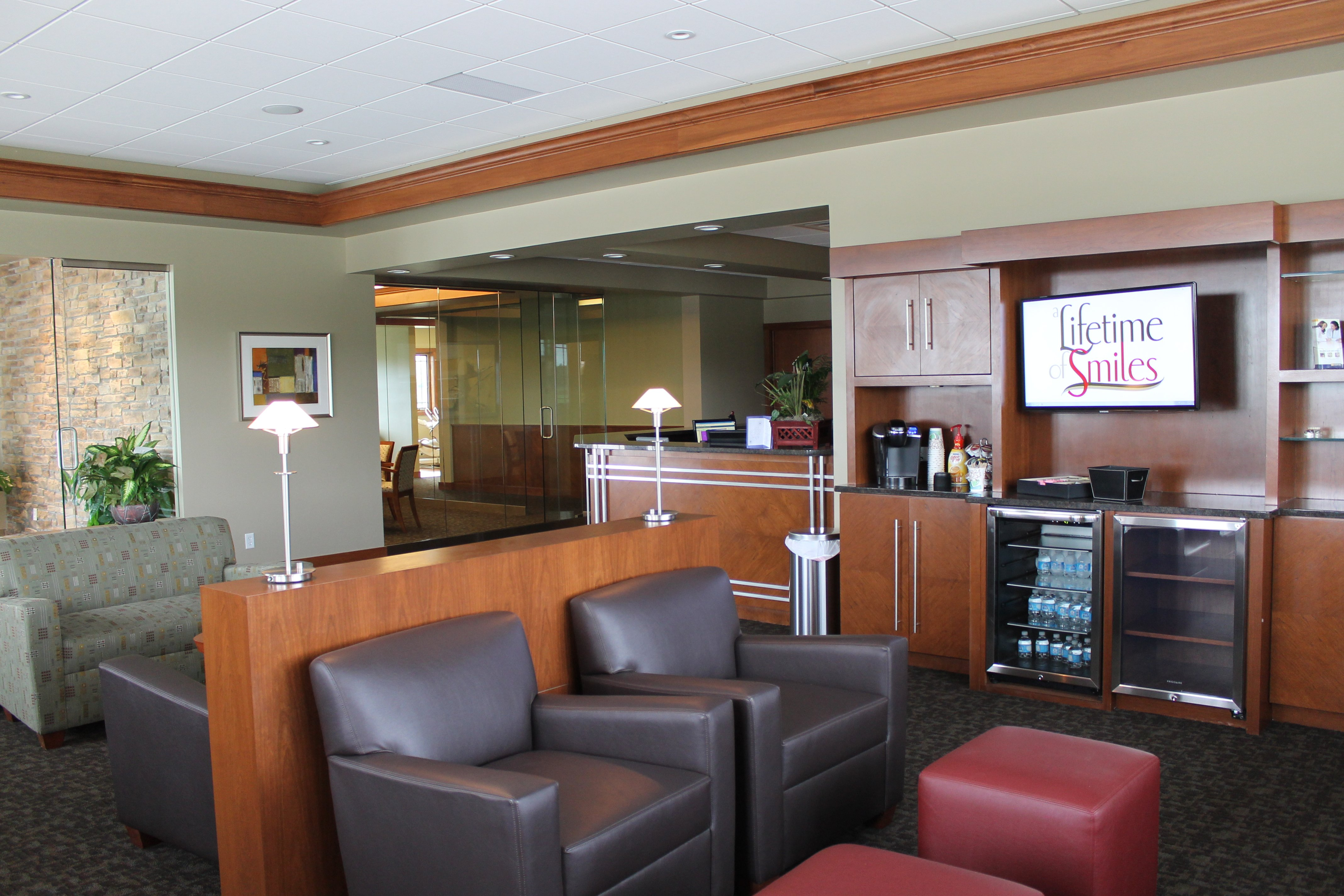 Our LaSalle IL Dental Offices Waiting Room