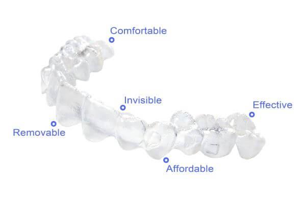 benefits of invisalign teeth corrections