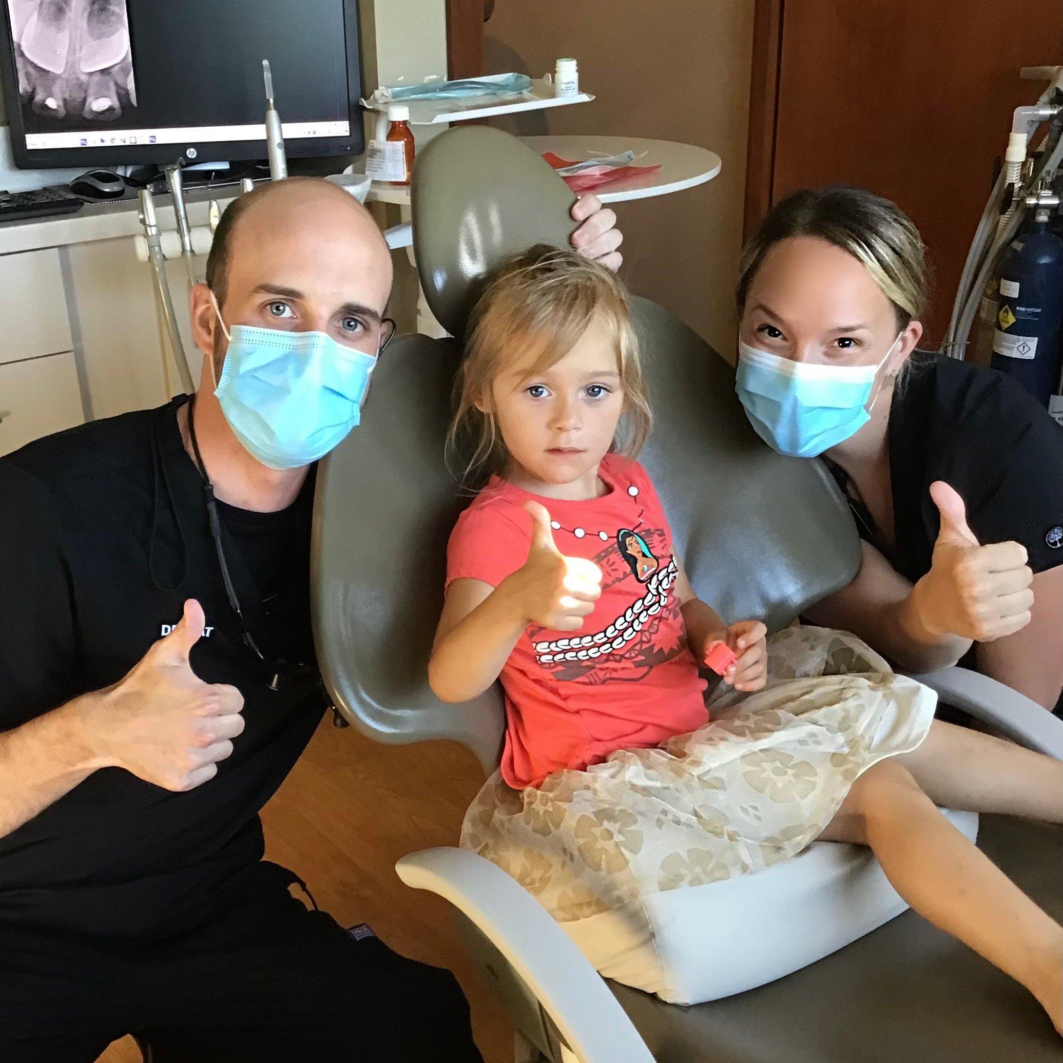 Dr Pat with patient - LaSalle IL